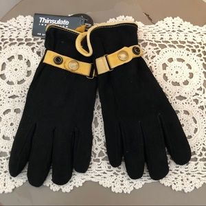 NWT Genuine Deerskin Suede Gloves